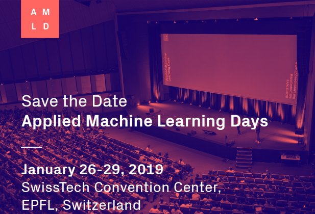 L'ECAL aux Applied Machine Learning Days 4020