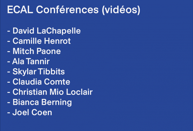 ECAL Conferences: video series 4400