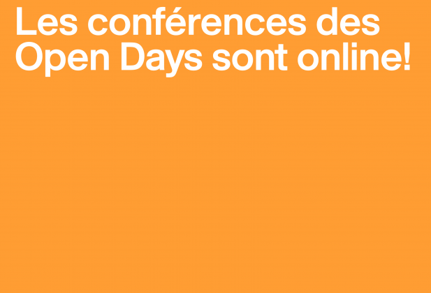 Open Days 2018 – Videos of the conferences 3670