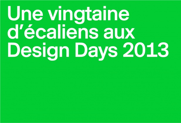 Une vingtaine d'écaliens aux Design Days 1870