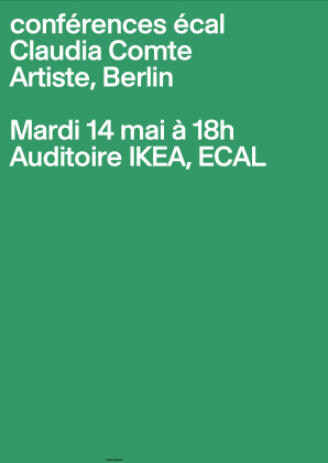 ECAL Conferences: Claudia Comte 4089