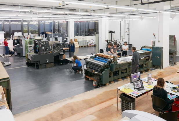 ECAL inaugurates its new Print Centre 3381