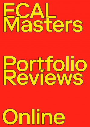 ECAL Masters Portfolio Reviews – Online 4803