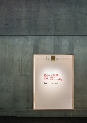 ECAL Design for Luxury and Craftsmanship exhibition at The Mass, Tokyo 3761