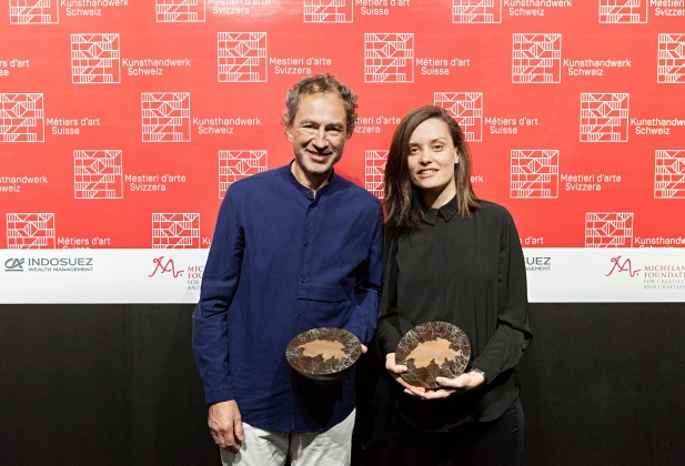 Métiers d'art design, Indosuez Award to two graduates  4075