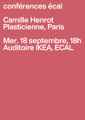 ECAL Conferences: Camille Henrot 4203