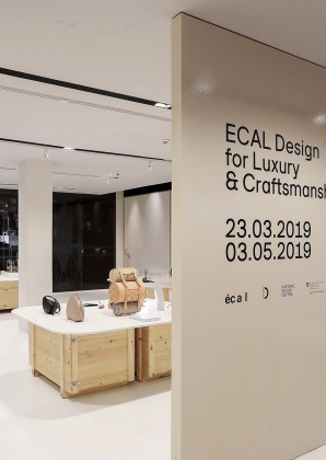 ECAL Design for Luxury and Craftsmanship exhibition at National Design Centre, Singapore 4088