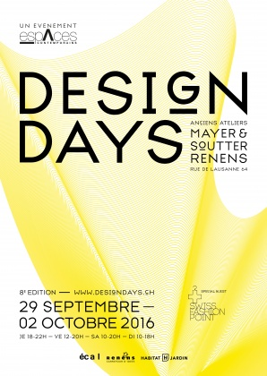 Design Days à l'ECAL et à Renens 3226