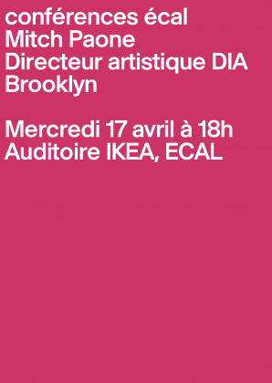 Conférences ECAL: Mitch Paone (DIA) 4079