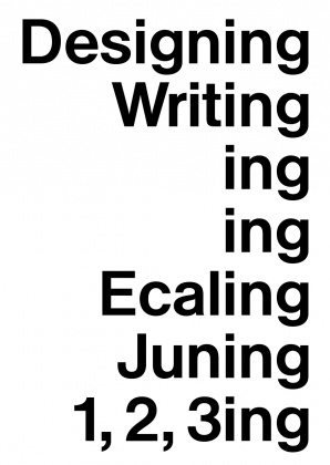 Designing Writing symposium at ECAL 3436