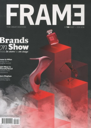 Font of the new FRAME Magazine layout 3184
