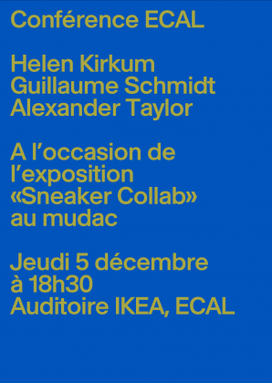 Conférence ECAL: Sneaker Collab 4291