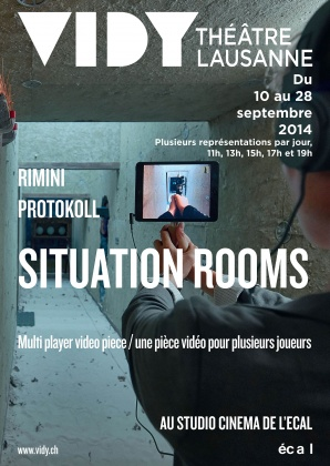 Spectacle «Situation Rooms» à l'ECAL 2458