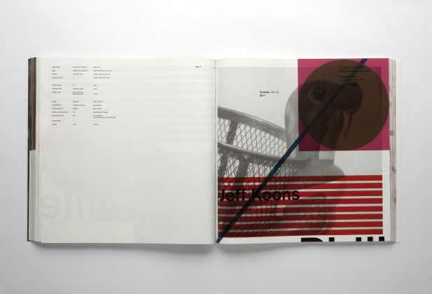 GRAPHIC DESIGN, Artforum 2011 Annual Report, Teo Schifferli 1462