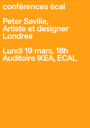 ECAL Conferences: Peter Saville
