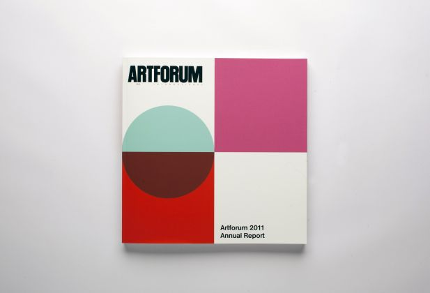 GRAPHIC DESIGN, Artforum 2011 Annual Report, Teo Schifferli 1459