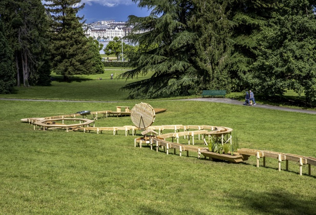 ECAL at Sculpture Garden – Le cours de l'eau Until 30 September, Parc des Eaux-Vives, Geneva 27162