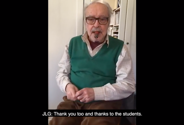 ECAL Instagram Live: Jean-Luc Godard Version with English subtitles 26696