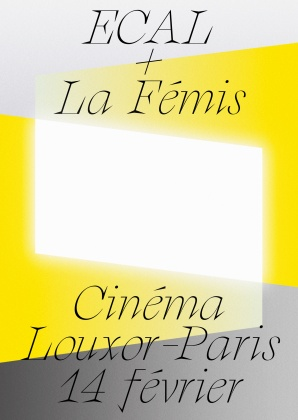 Screening: ECAL and La Fémis at Louxor, Paris