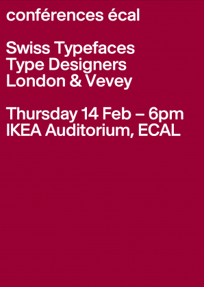 ECAL Conferences: Swiss Typefaces