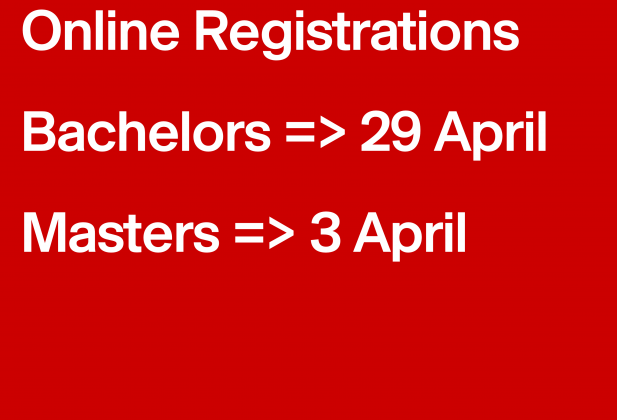The online registrations are open! 