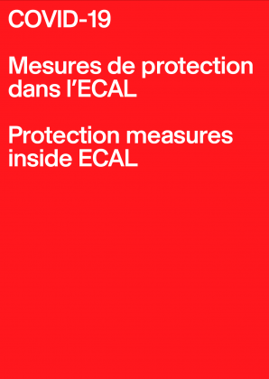 COVID-19: Protection measures inside ECAL Since Monday 8 June 2020 27087