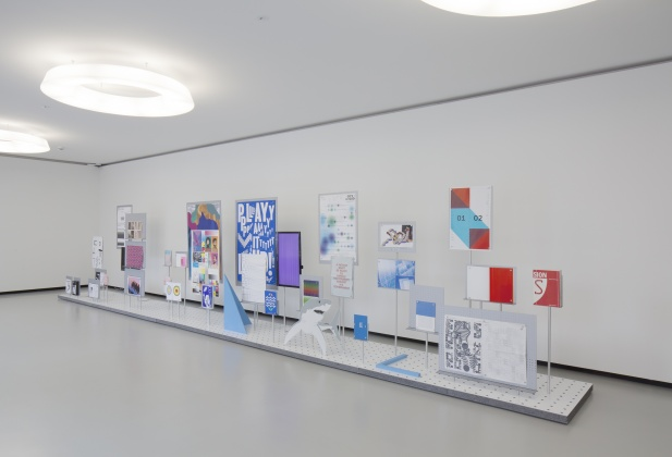 D Exhibition Design : Ecal events exhibitions «ecal graphic design exhibition at
